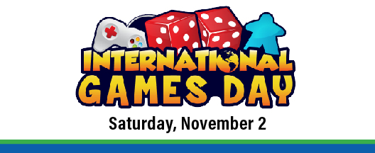 Play All Day at the County Library's International Games Day